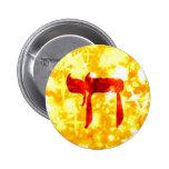Botón estrellado del oro de Chai Pin