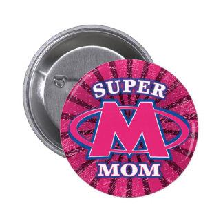 Botón estupendo de la mamá