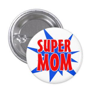 Botón estupendo del día de madre de la mamá