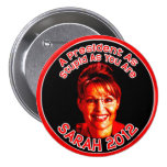 Botón estúpido de Palin Pins
