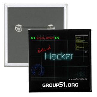 Botón ético del pirata informático