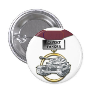 Botón experto de la medalla del petrolero pin redondo de 1 pulgada