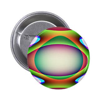 Botón extranjero de la nave espacial pin redondo de 2 pulgadas