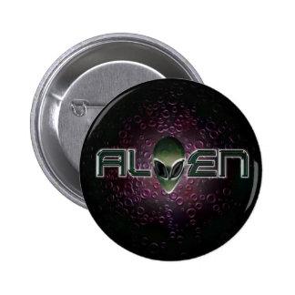 Botón extranjero del logotipo pin