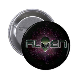 Botón extranjero del logotipo pin redondo de 2 pulgadas