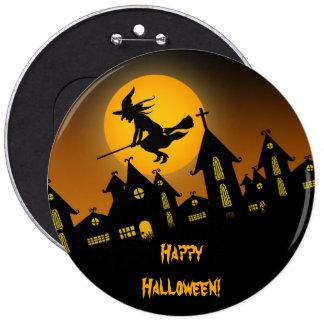 Botón fantasmagórico de Halloween 2 Pin