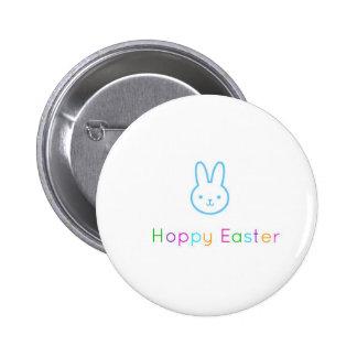 Botón feliz de Pascua