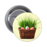 Botón feliz de Pascua Pin