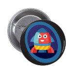 Botón feliz de Rocket Pins