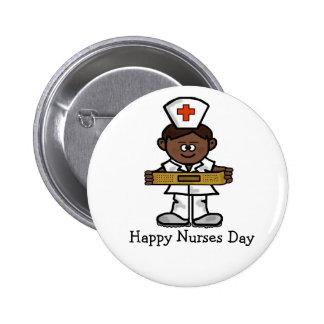Botón feliz del día de las enfermeras - enfermera pins