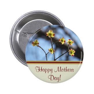Botón feliz del día de madres pin