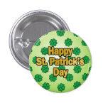 Botón feliz del día de San Patricio Pins