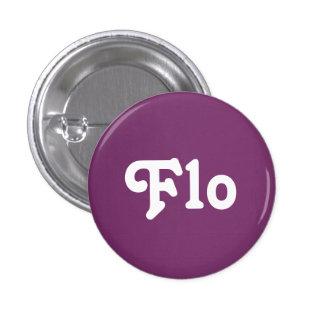 Botón Flo Pin Redondo De 1 Pulgada