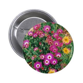 Botón floral pin