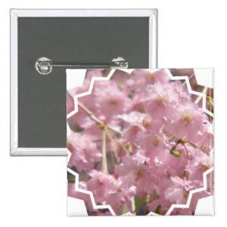 Botón floreciente del cerezo