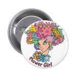 Botón florido del florista pin