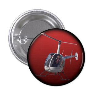 Botón fresco del helicóptero del botón/Pin del hel Pin Redondo De 1 Pulgada