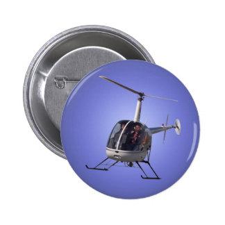 Botón fresco del helicóptero del botón/Pin del hel Pin Redondo De 2 Pulgadas