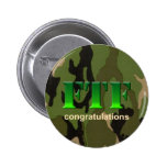 Botón FTF de Geocaching Pins
