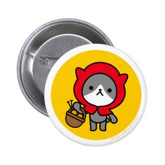 Botón - gatito - OrangeBack Pins