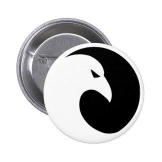 Botón genérico del reloj de noche pin redondo de 2 pulgadas