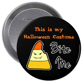 Botón grande del traje de Halloween