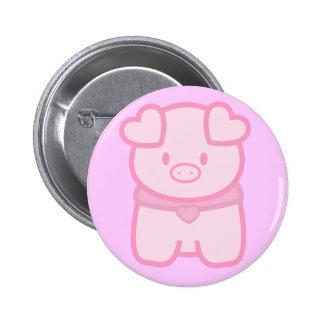Botón guarro de Lil Pin Redondo De 2 Pulgadas