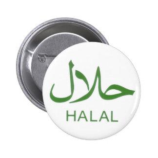 Botón Halal Pin