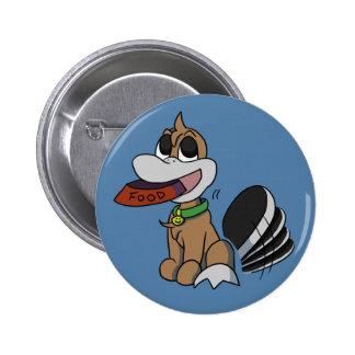 Botón hambriento de Platypi Pins