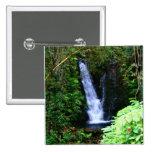 Botón hawaiano de las cascadas pins