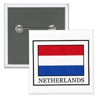Botón holandés pin cuadrado