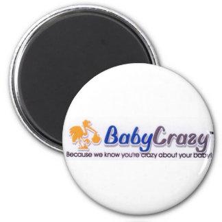 Botón, imanes, llaveros y pernos de BabyCrazy Imán Redondo 5 Cm