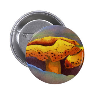 Botón impar de la naturaleza pin redondo de 2 pulgadas