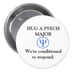 Botón importante divertido de Psych
