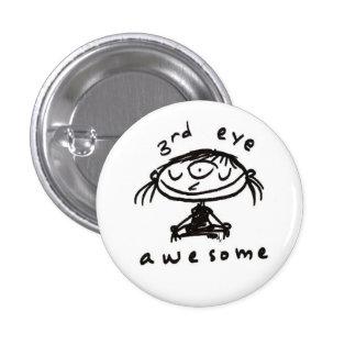 botón impresionante del tercer ojo