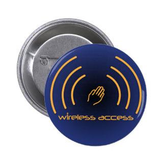 Botón inalámbrico del cristiano del acceso