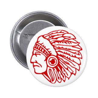 Botón indio pin redondo de 2 pulgadas