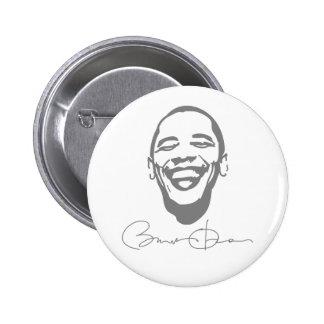Botón infeccioso de la firma de la sonrisa de Obam Pins