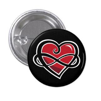 Botón infinito del amor