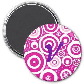 Botón inicial imán redondo 7 cm