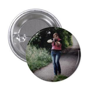 Botón innumerable de Clair de la exhibición Pin Redondo De 1 Pulgada