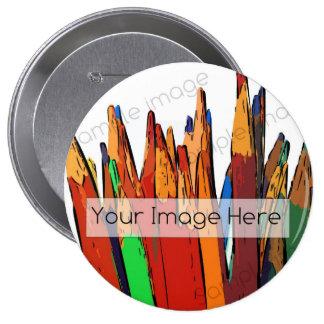 Botón insignia de la foto pins