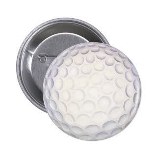Botón/insignia de la pelota de golf pin redondo de 2 pulgadas