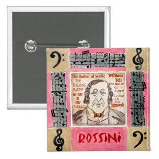 Botón/insignia de Rossini Pins