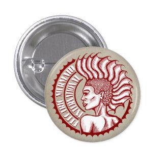 Botón internacional del sello de la sirena