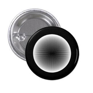 Botón invertido de la bola de nieve del fractal pin