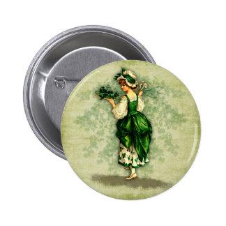 Botón irlandés de las bendiciones pins