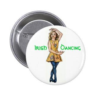 Botón irlandés del baile