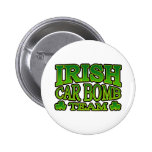 Botón irlandés del equipo del coche bomba pins