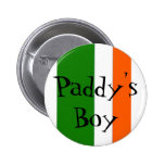 Botón irlandés del orgullo pin